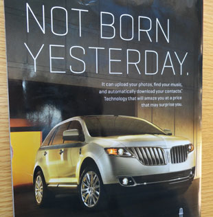 MyLincoln Touch ad