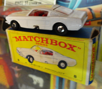 Matchbox Mustang No. 8