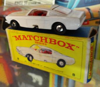 Matchbox Mustang No. 8