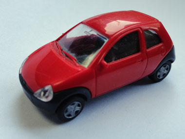Ford Ka toy car