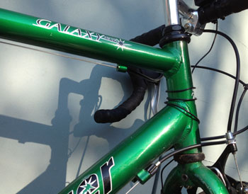 Jay's dinosaur of a bike