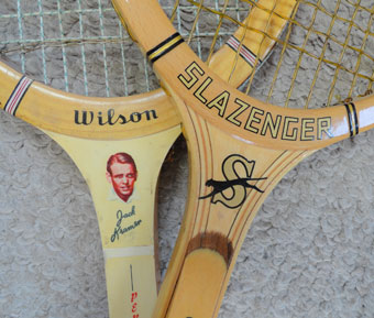 Old Tennis Rackets