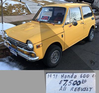 1971 Honda Sedan