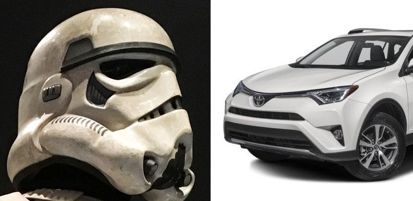 Toyota RAV4 vs. Stormtropper