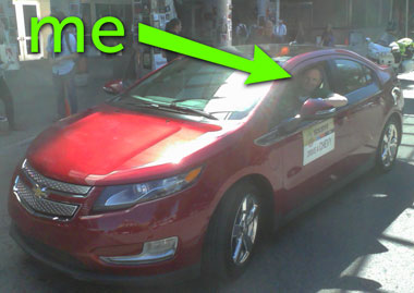 Chevrolet Volt test drive