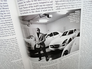 Floyd Mayweather, Jr's cars