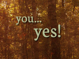 You - yes!