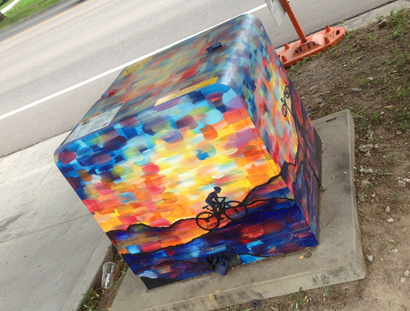 electrical box artwork in fort collins