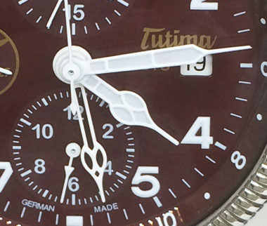 Tutima watch dial