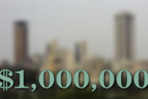a million dollars in nairobi