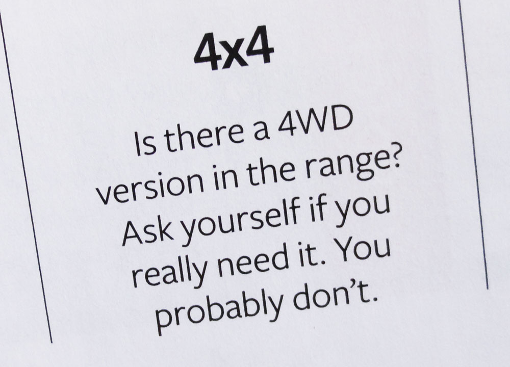 quote about 4x4 vehicles