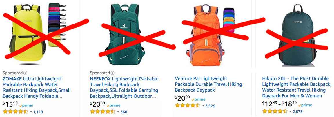 chinese backpack names