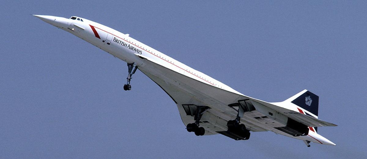 the Concorde jet