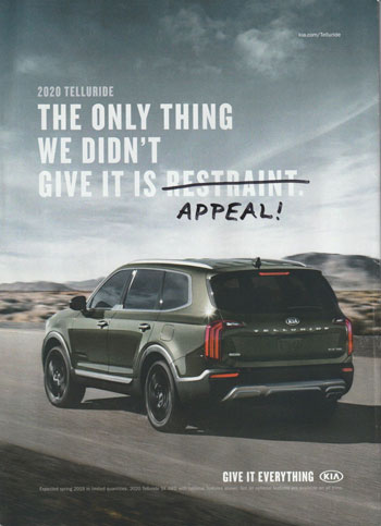 kia telluride ad - modified