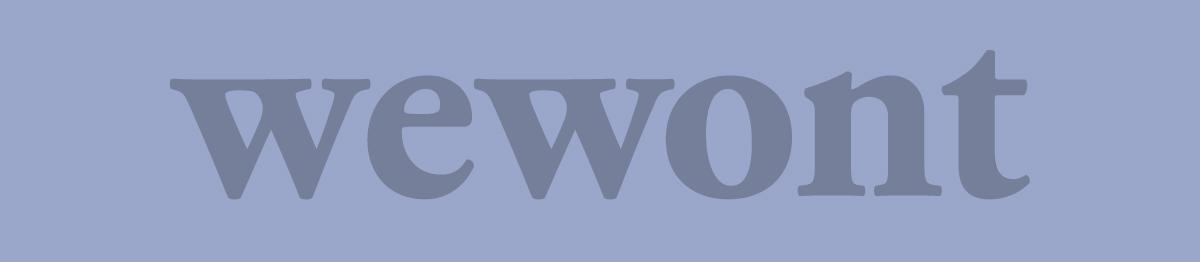fake wewont logo