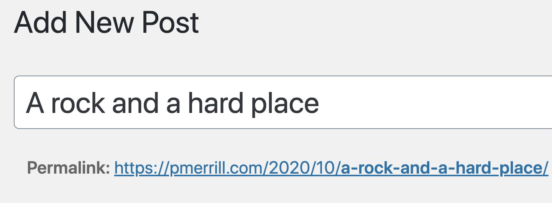 blog post not written - screenshot