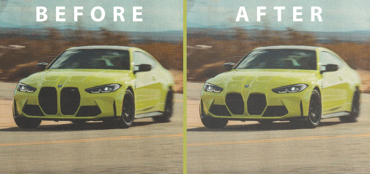 2021 BMW M4: before and after design suggestions