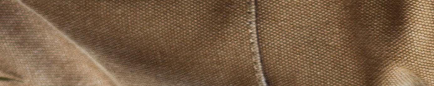 closeup of canvas fabric
